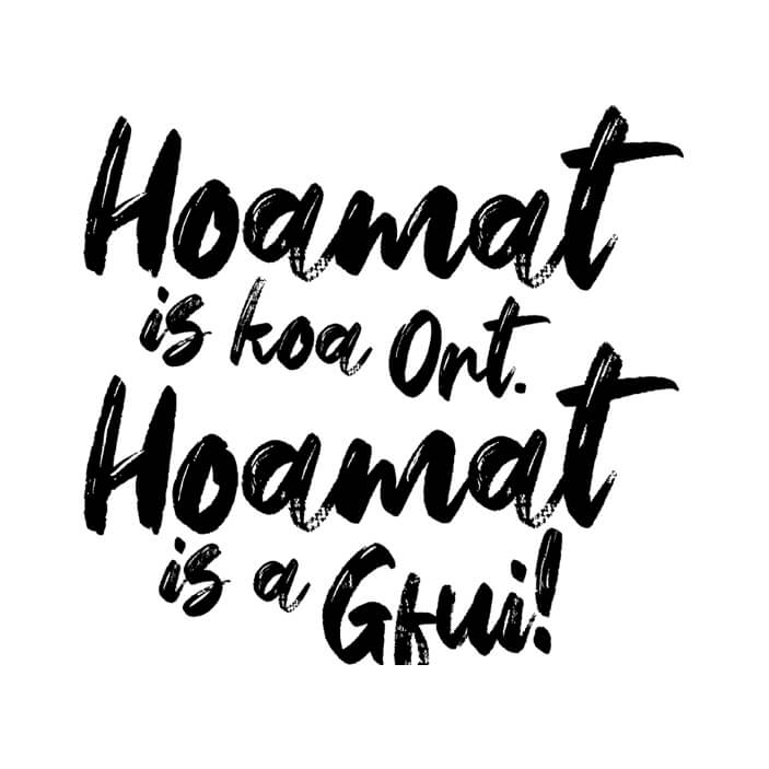 Hoamat is a Gfui