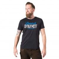 """Herren-Shirt """"Boarisch Dynamite"""""""