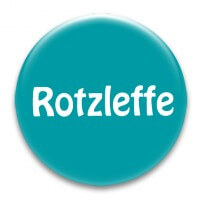 Nadel-Button 'Rotzleffe'